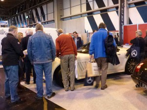 2015 NEC Classic Show - Electric Roof Launch